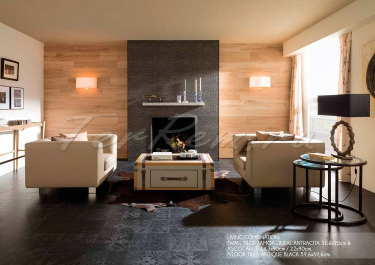 ������������ Porcelanosa Park Antique Black  P18569311
