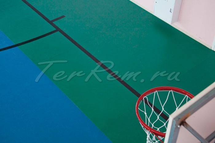 Линолеум Tarkett (Таркетт)  Omnisports Reference 6.5 mm Forest Green рулон 2x20,5м (41м2) арт. OR04