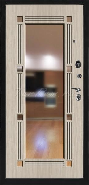 купить металлические двери с зеркалом