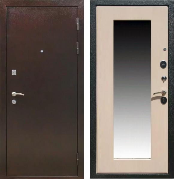 купить входную дверь с зеркалом в подольске недорого