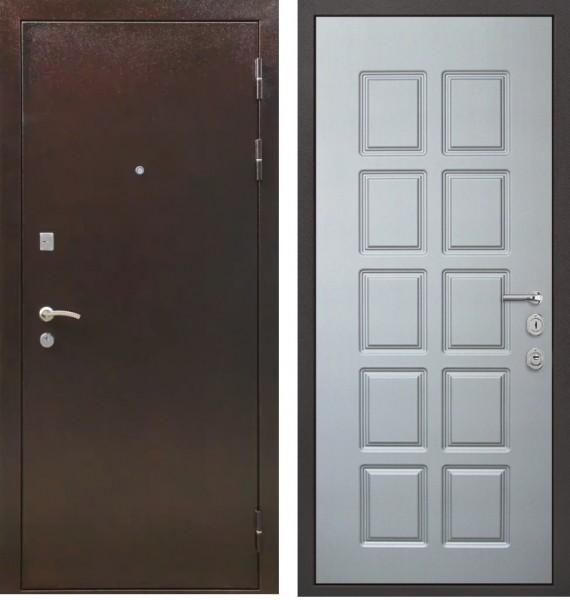 железные двери в светлом